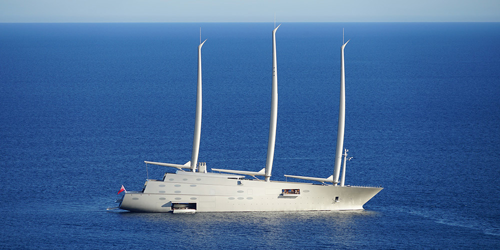 Work on Super yacht