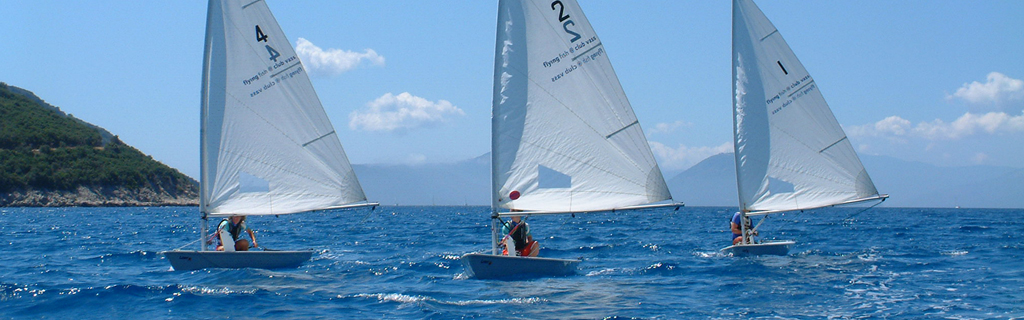 Dinghy Sailing at Flying Fish