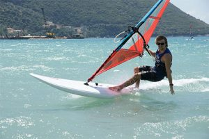 Learning to windsurf with Flying Fish