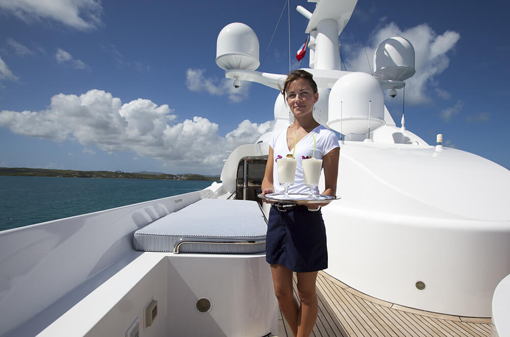 Superyacht Stewardess