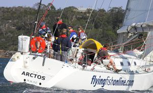 yachting-flying fish