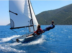 RYA Dinghy Instructor Course in Greece