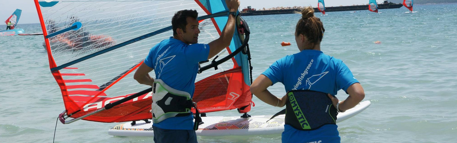 RYA Windsurfing Instructor Course in Greece with Flying Fish