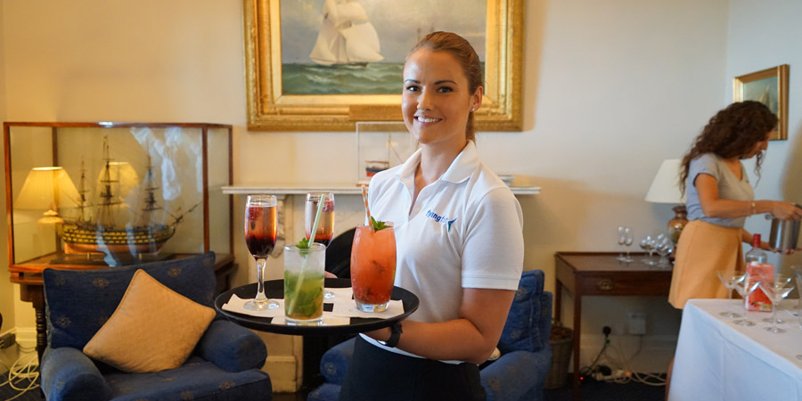 Work as a superyacht stewardess
