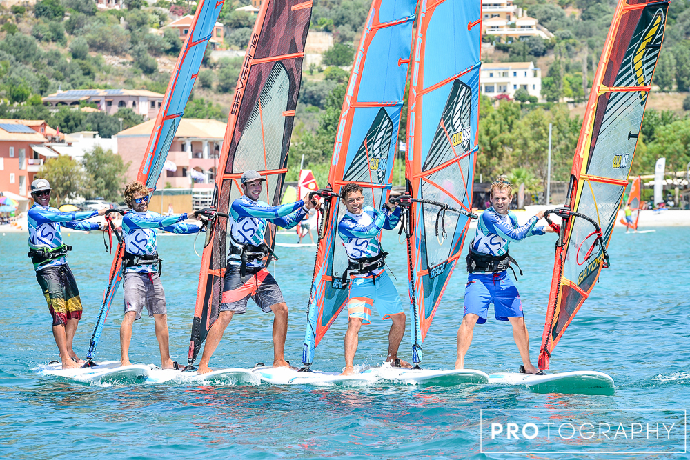 Windsurfing instruction