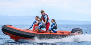 Powerboat and rescue training