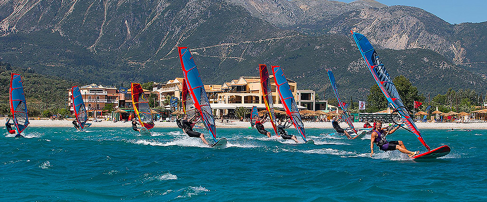 Windsurfing at Club Vass