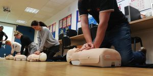 STCW first aid training