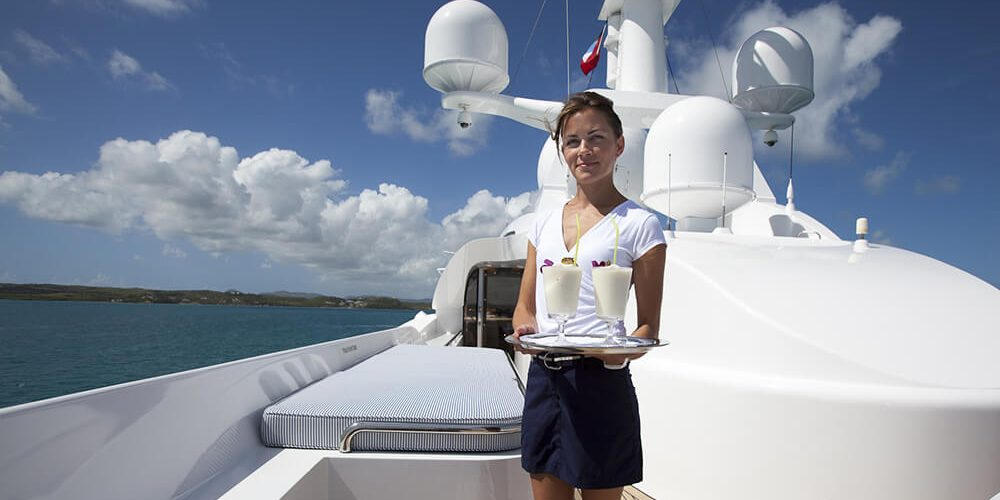 Become a Superyacht Stewardess