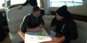 Navigation training on board