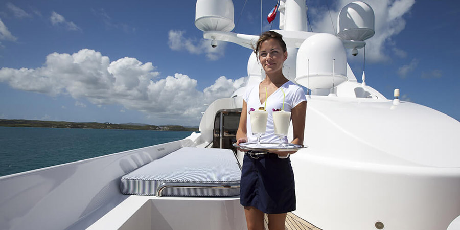 Work Superyacht Gap Year