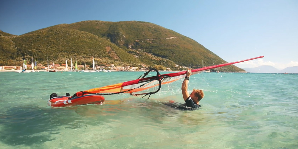 How to Water Start Windsurfing